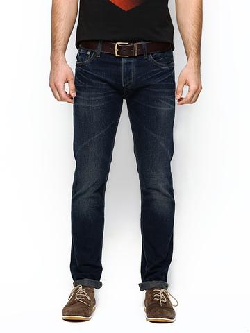 Jack & Jones Men Navy Slim Fit Jeans