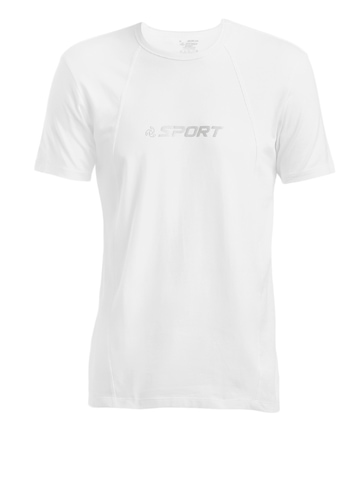 Jockey Men White Innerwear T-shirt