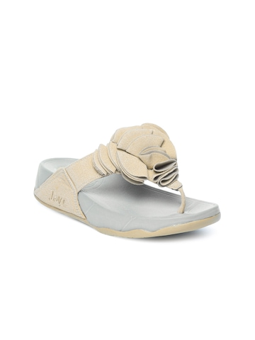 Jove Women Khaki Sandals