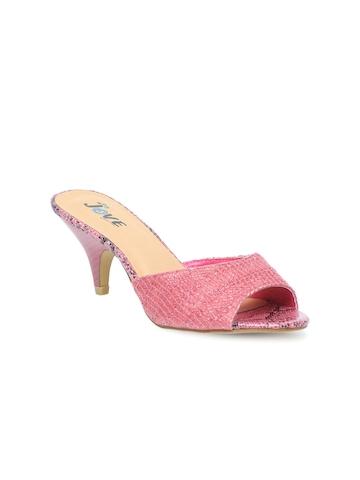 Jove Women Pink Heels