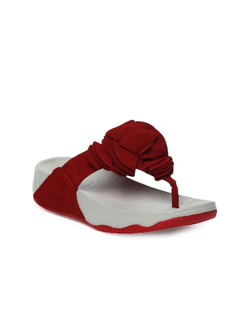 Jove Women Red Sandals