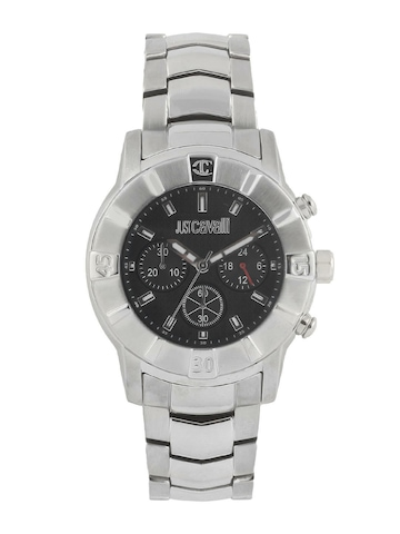 Just Cavalli Men Silver Watch