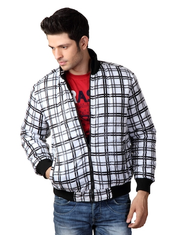 Just Natural Men Black Reversible Jacket