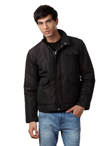 Just Natural Men Brown Jacket