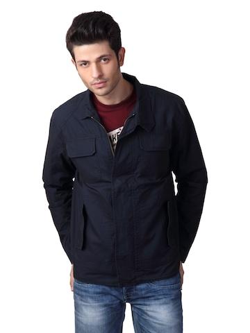 Just Natural Men Navy Blue Jacket