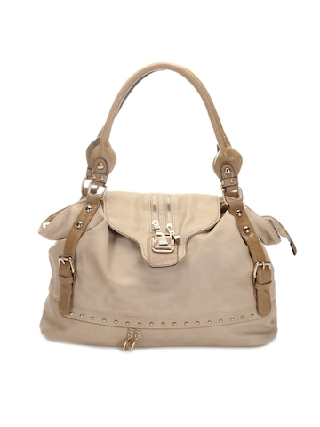 Kiara Women Beige Handbag