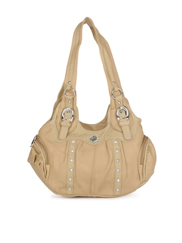 Kiara Women Camel Brown Handbag