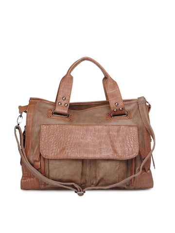 Kiara Women Brown Handbag