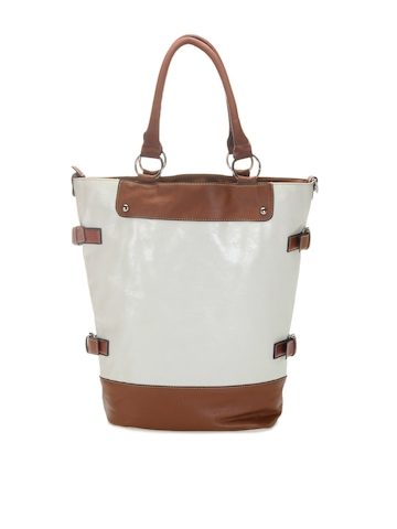 Kiara Women White Handbag