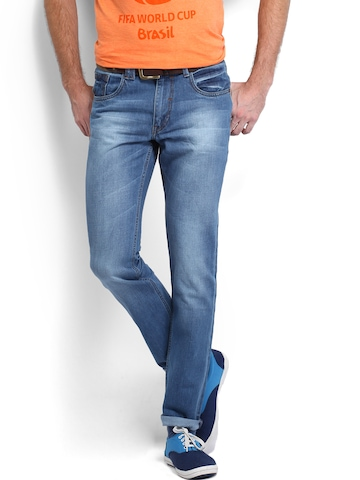 Kook N Keech Men Blue Slim Fit Jeans