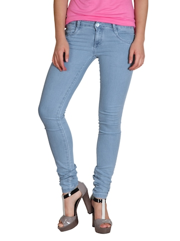 Kraus Jeans Women Blue Jeggings