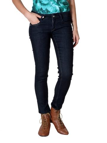 Kraus Jeans Women Blue Jeggings