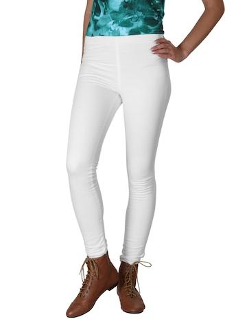 Kraus Jeans Women White Leggings