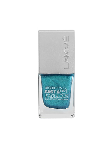 Lakme Absolute Fast & Fabulous Aqua Express Nail Polish 06