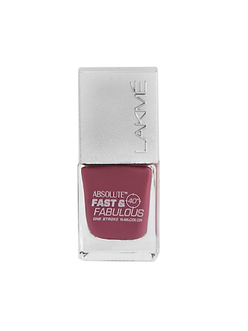 Lakme Absolute Fast & Fabulous Fizzy Pink Nail Polish 20