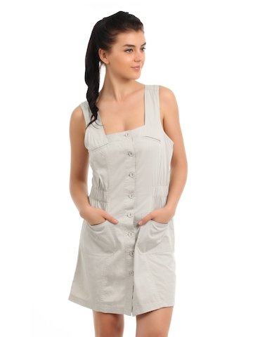 Latin Quarters Women Beige Dress
