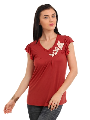 Latin Quarters Women Red Top