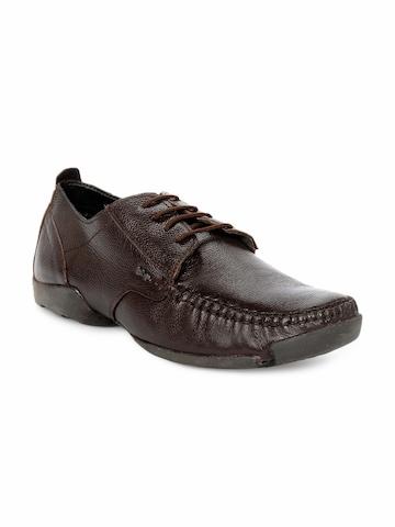 Lee Cooper Men Brown Formal Shoes