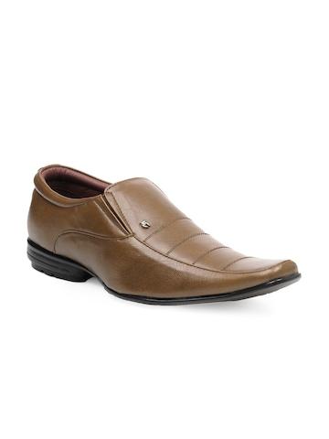 Lee Cooper Men Brown Shoes