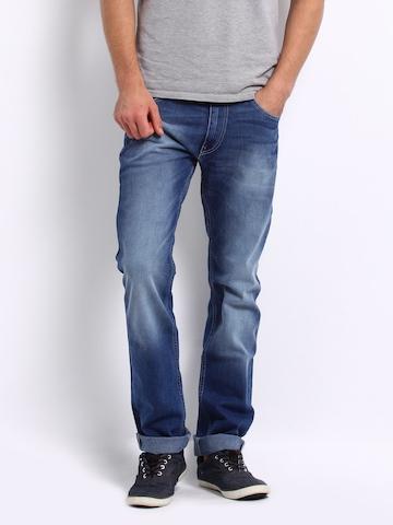 Lee Men Blue Grant Powell Slim Fit Jeans