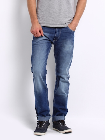 Lee Men Blue Grant Powell Slim Fit Jeans