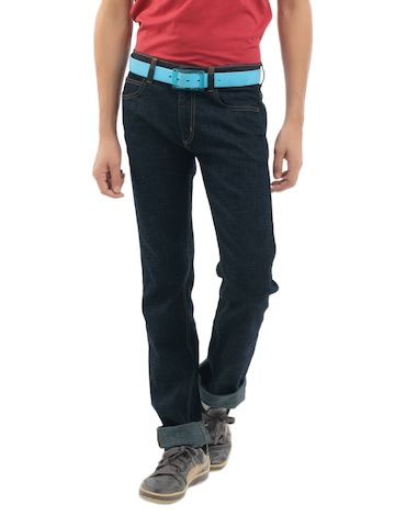 Lee Men Navy Blue Powell Fit Jeans