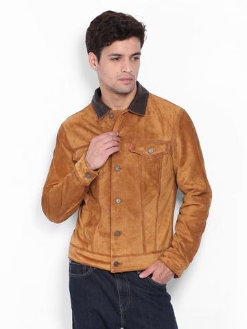 Levis Men Brown Jacket