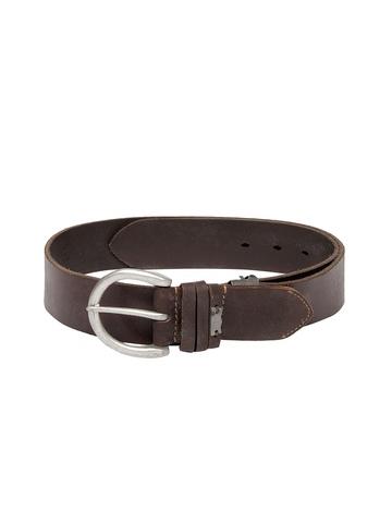 Levis Women Brown Leather Belt