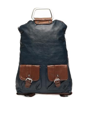 Lino Perros Women Blue Convertible Backpack