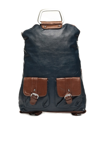 Lino Perros Women Blue Convertible Backpack