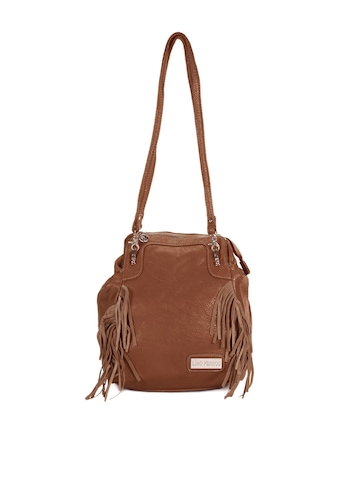 Lino Perros Women Brown Handbag