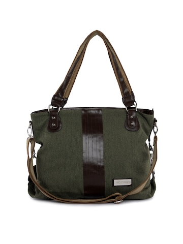 Lino Perros Women Classic Olive Handbag
