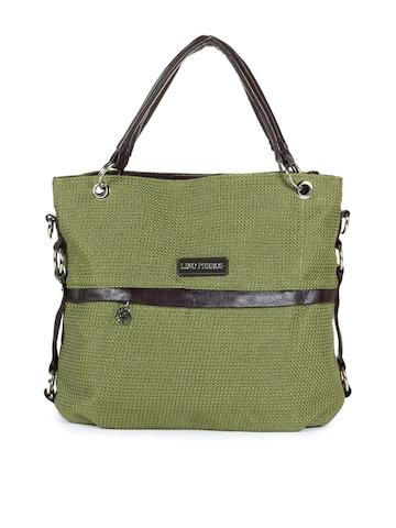 Lino Perros Women Green Handbag