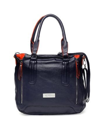 Lino Perros Women Navy Blue Handbag
