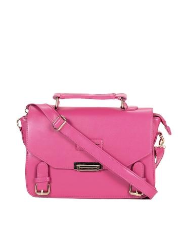 Lino Perros Women Pink Handbag