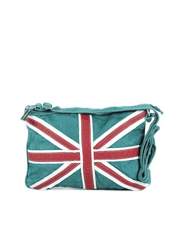 Lino Perros Women Turquoise Blue Sling Bag