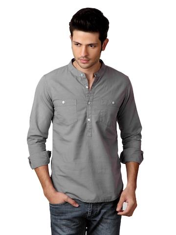 Locomotive Men Grey Shirt