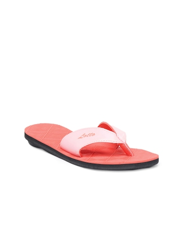 Lotto Women Pink Flip Flops