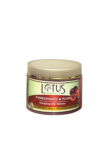 Lotus Herbals Pomegranate & Plum Skin Polisher