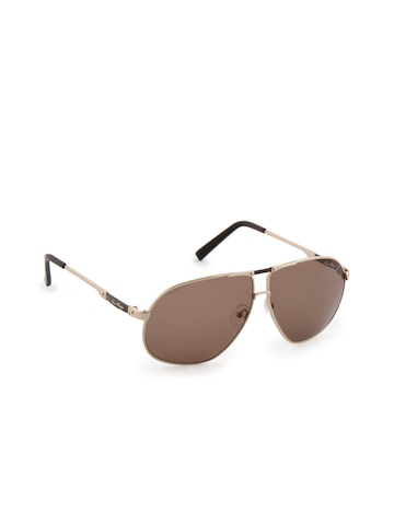 Louis Philippe Men Gold Frame Sunglasses