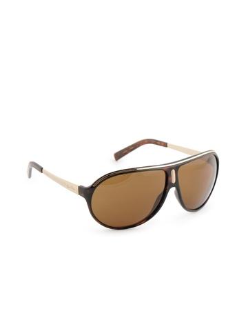 Louis Philippe Men Gold Frame Sunglasses