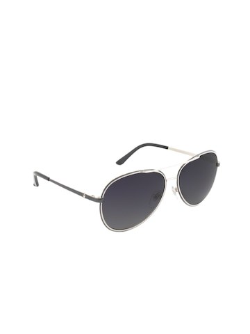 Louis Philippe Men Black Sunglasses