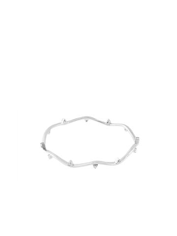 Lucera Silver Bangle