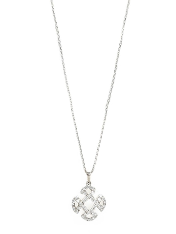 Lucera Silver Pendant With Chain