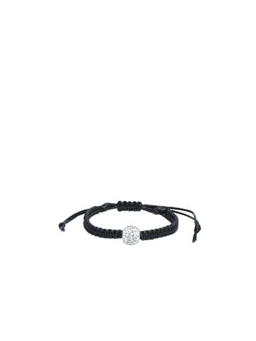 Lucera Women Black & Silver Bracelet
