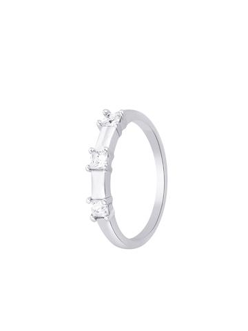 Lucera Women Silver Ring
