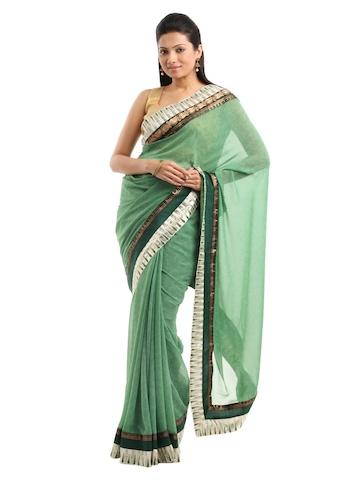 Manjula Green Sari