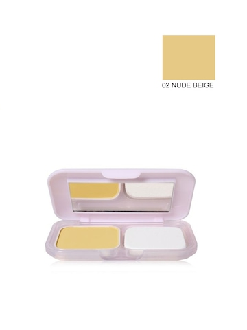 Maybelline Clear Glow All in One Nude Beige Compact Powder 02