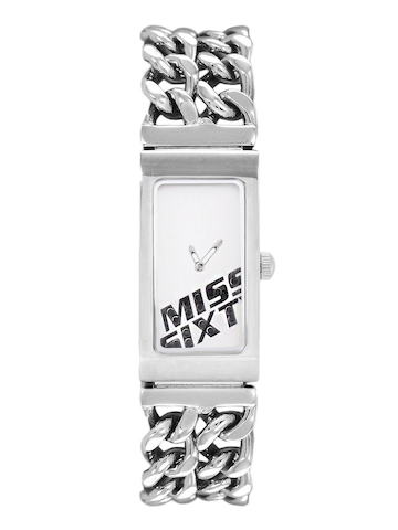 Miss Sixty Silver Dial Watch