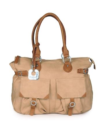 Mod'acc Women Beige Handbag